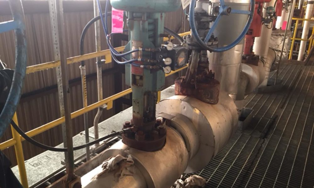 RJ Stacey attemporator leak after repair