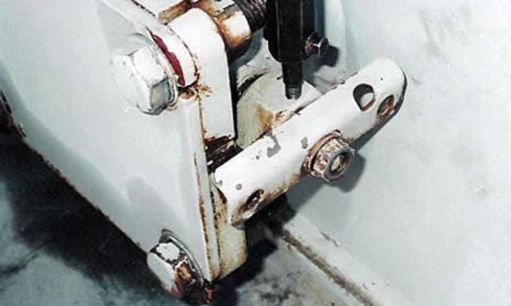 transformer leak repair